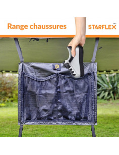 Range chaussure universelle pour trampoline (2 emplacements)