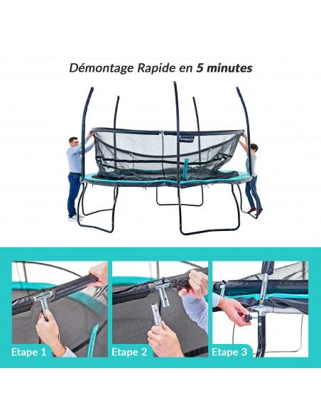 Trampoline Starflex Pro - Diamètre 427 cm