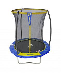 Trampoline Jump Power avec filet de sécurité - Diamètre 183 cm