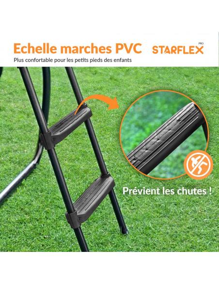 PACK 3 ACCESSOIRES 430 cm: Echelle, Ancrage, Bâche 430 cm - 4