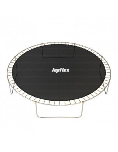 Tapis de saut avec jupe securite trampoline 370 cm