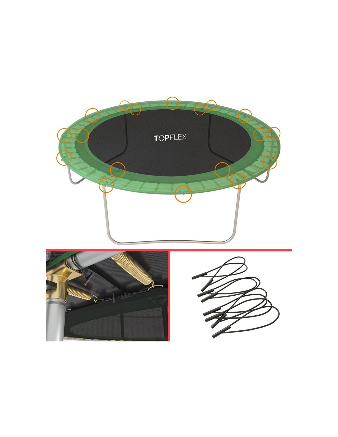 vente de trampoline 305cm avec filet petit trampoline. Black Bedroom Furniture Sets. Home Design Ideas