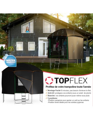Tente Cabane Trampoline Universelle Tigloo Ø 370 cm