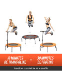 Trampoline fitness - Mini trampoline starflex pro