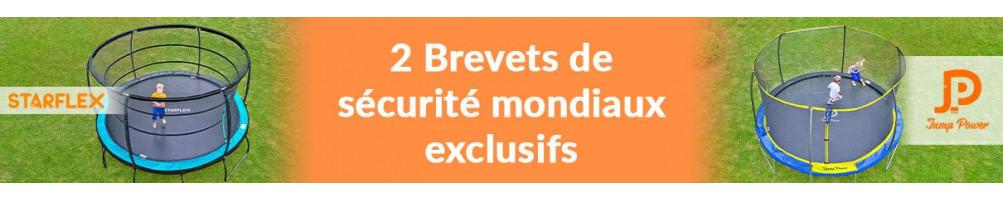 Achat de trampoline pas cher, trampoline adulte ou enfant, trampoline familial - Topflex