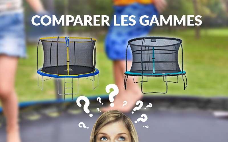 Comparer gammes de trampoline loisirs